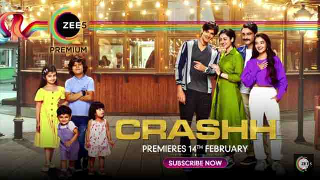 Crashh Web Series ALTBalaji & ZEE5 Cast : Watch Online, All Episode Hd
